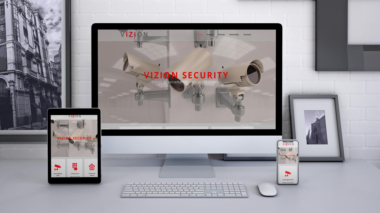 vizion security website